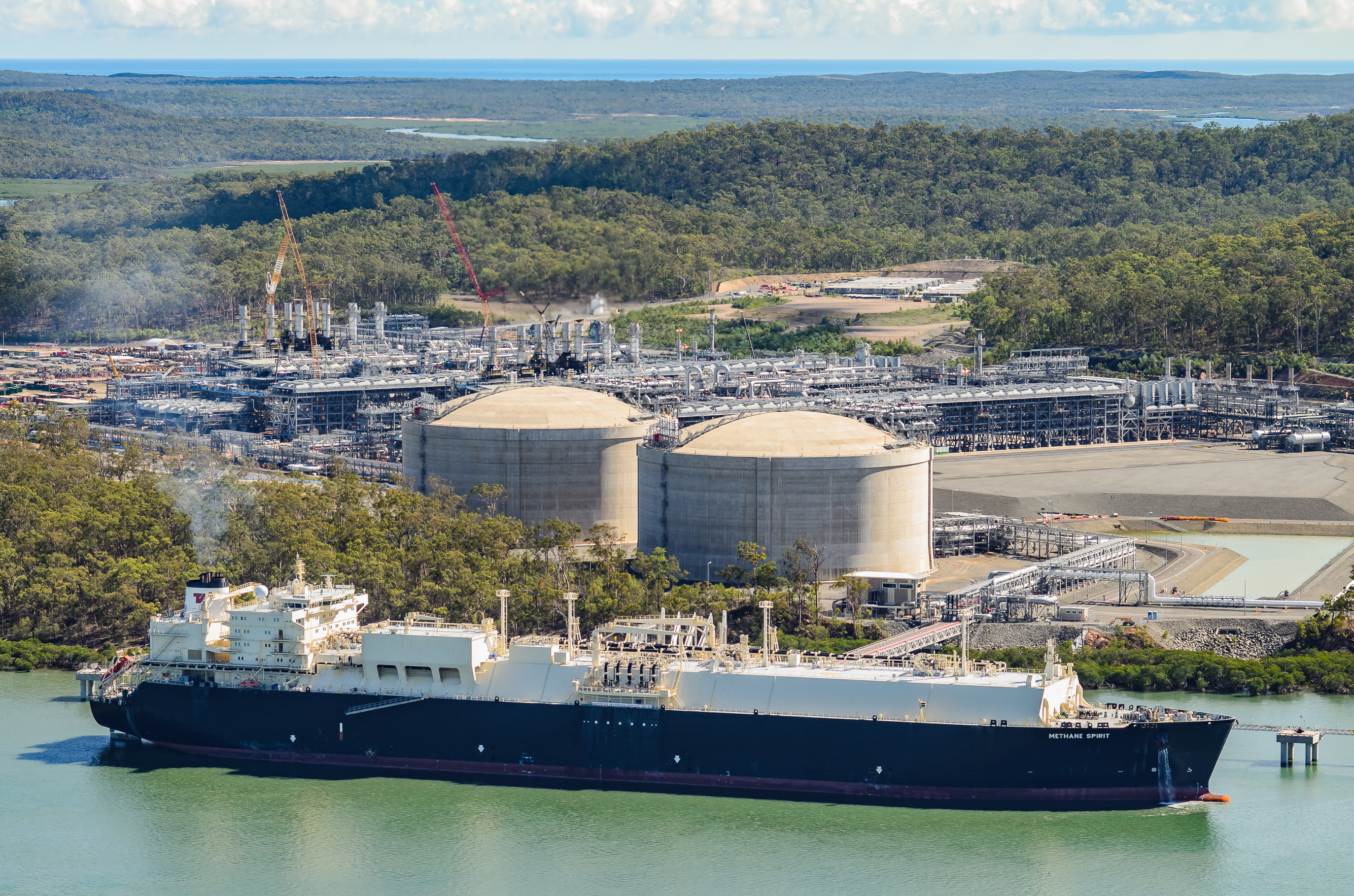 LNG exports on the rise