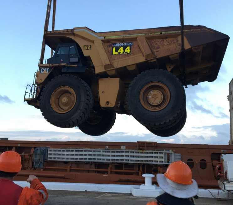 Bumper months for mining cargo