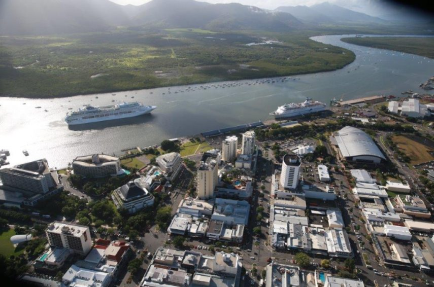 Bumper month for Cairns cargo