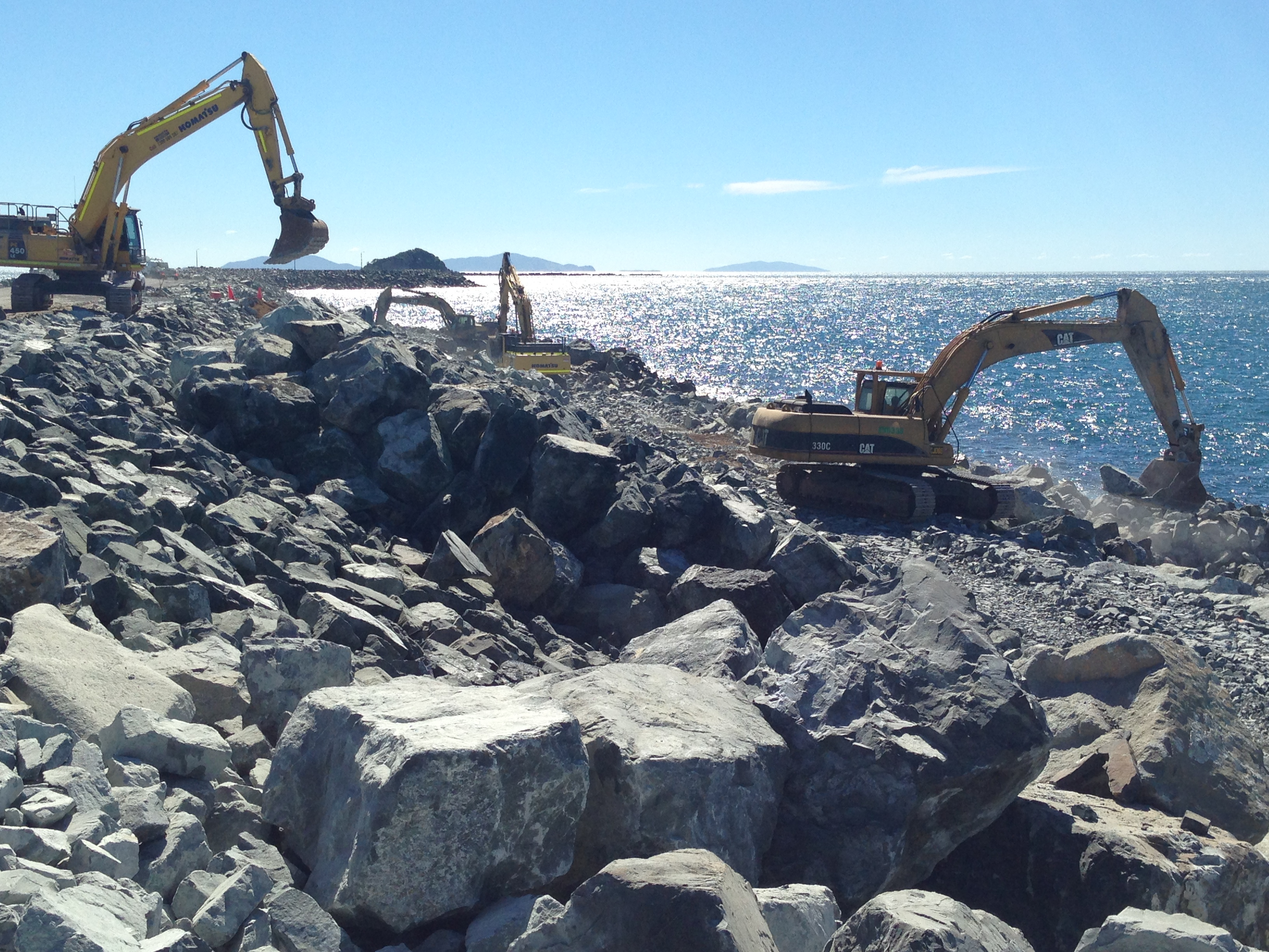 Breakwater contracts awarded